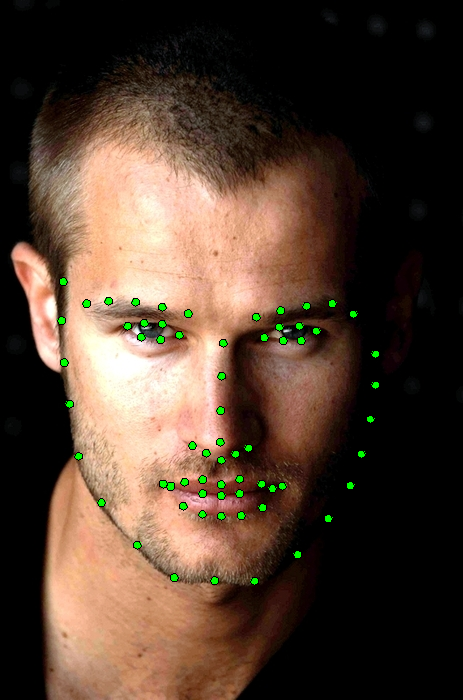 Face detection example