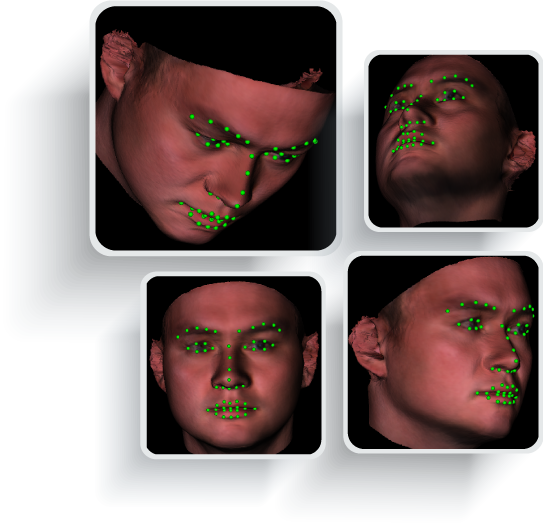 3D face modeling example
